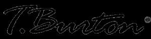 logo t.burton bez tła