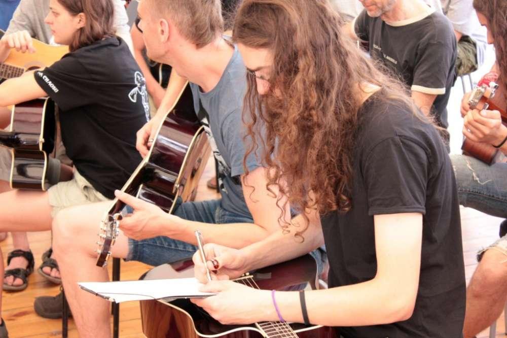 lekcje gry na gitarze woodstock